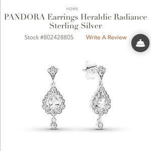 Pandora Heraldic Radiance Earrings